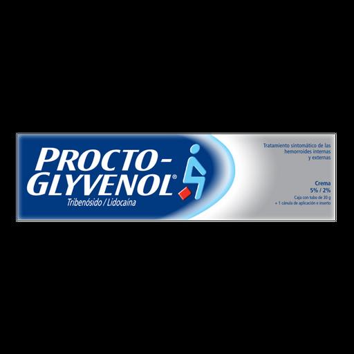 Tratamiento Para Las Hemorroides Procto-glyvenol Crema