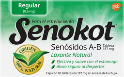 Laxante Senokot 60 Tab de 8.6 mg