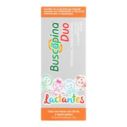 Buscapina Duo Lactantes Solución Gotas 20 mL (2 mg/100 mg)