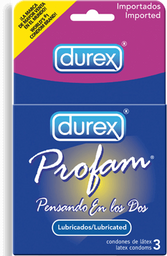 Preservativo Profam Lubricados 3 U