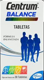 Multivitamínico Centrum Balance 30 Tabletas