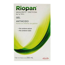 Riopan Gel en Frasco Caja