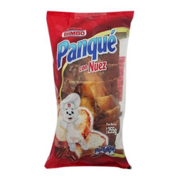 Pan Dulce Panqué Bimbo Con Nuez