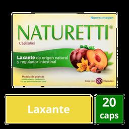 Naturetti Laxante  20 Tabletas 5mg