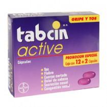 Tabcin Bayer Active Día 12 Cápsula(S) Caja Paracetamol 250 Mg