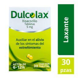 Dulcolax 30 tabletas 5mg Laxante