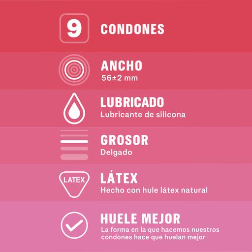 Sico Reckitt Benckiser Sensitive Delgado Condones Lubricados
