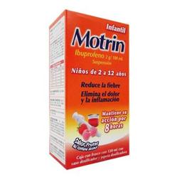 Analgésico Motrin Suspensión Infantil 120 Ml