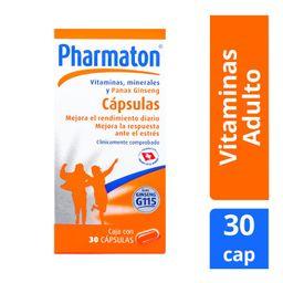 Pharmaton Multivitamínico 30 Cápsulas