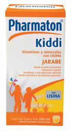 Multivitamínico Pharmaton Kiddi Con Lisina 200 mL