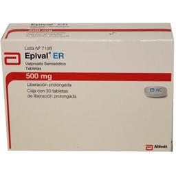 Abbott Epival Er 500 Mg Tabletas