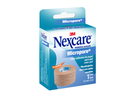 Cinta Micropore Nexcare Piel 1 U