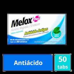 Melox Plus Masticables Sabor Menta 50 Tab