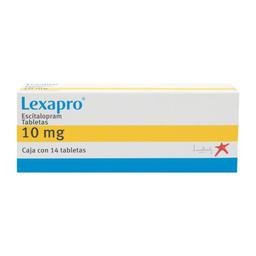 Lexapro 14 Tab 10 mg
