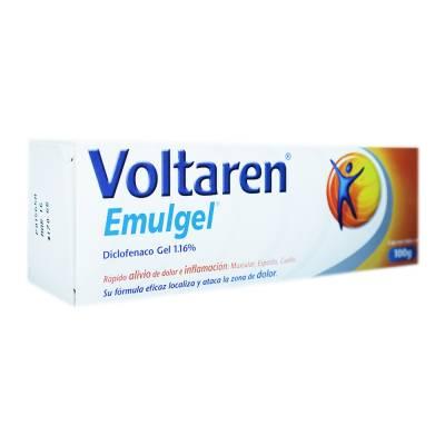 Gel Voltaren Emulgel Triple Efecto Diclofenaco 1.16%