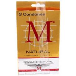 Condones M M Force Condones Sensacion Natural