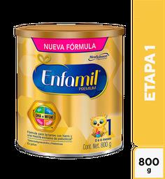 Fórmula Para Lactantes Enfamil Premium Etapa 1 0 A 6 Meses 800G