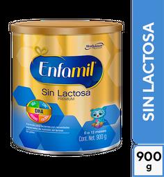 Fórmula Para Lactantes Enfamil Premium Sin Lactosa 900G