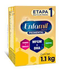 Fórmula Para Lactantes Enfamil Premium Etapa 1  2 Bolsas 550G