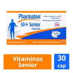 """Pharmaton 50+ Senior  30 caps"""