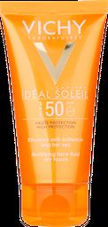 Protector Solar Fps 50+ Toque Seco Rostro Idéal Soleil Vichy