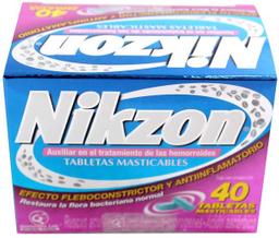 Nikzon 40 Tabletas