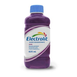 Suero Rehidratante Electrolit Uva Botella