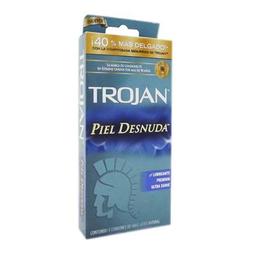 Condones Trojan Piel Desnuda