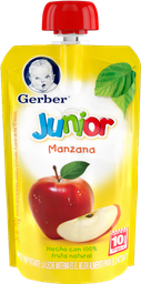 Papilla Gerber Junior Manzana 110 mL