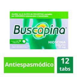 Buscapina 12 Tabletas (10 mg)