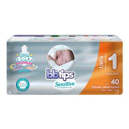 Bbtips Sensitive Pañal Hipoalergénico Etapa 1