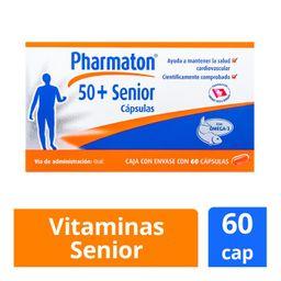 Multivitamínico Pharmaton 50 + Senior 60 Cápsulas