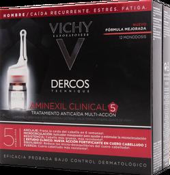 Ampolletas Anti-Caída Dercos Aminexil Clinical 5 Vichy Hombre