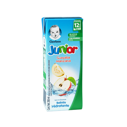 Gerber Junior Splashers Guayaba Manzana