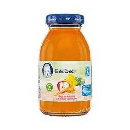 Jugo Para Bebé Gerber Manzana Zanahoria