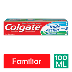 Pasta Dental Colgate Triple Acción 100 mL
