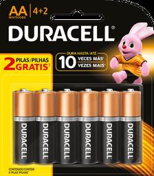 Duracell Pila Alcalina Aa 4+2