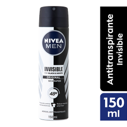 Nivea Men Antitranspirante Invisible Black & White Power Spray