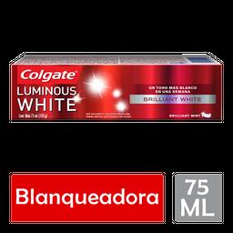 Pasta de Dental Colgate Luminous White BrillIant White 75ML