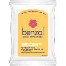 Benzal Toallet Manzanilla C20 Pouch Pack