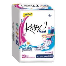 Kotex Toallas Femeninas  Maxi