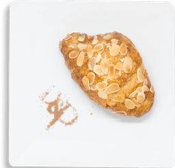 Croissant con Almendra