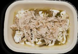 4 Ordenes de Chilaquiles con Pollo Mediana + Refresco
