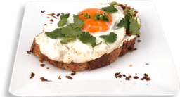 Avocado Toasts con Huevo Orgánico