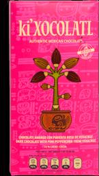 Ki Xocolatl Amargo con pimienta rosa 80 g