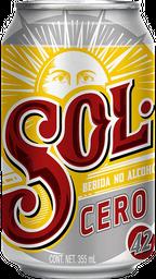 Cerveza Sol Cero 355 ml