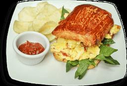 Sandwich Huevo elige un complemento