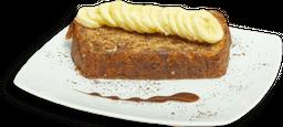 Panque de Plátano Vegano