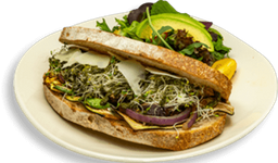 Sandwich Verduras Rostizadas