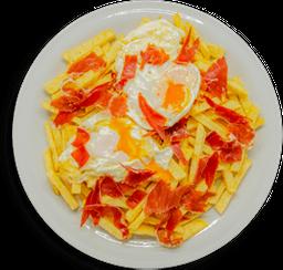 Huevos Rotos con Serrano